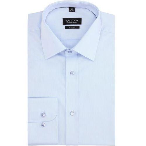 Recman Koszula versone 2322 długi rękaw slim fit niebieski