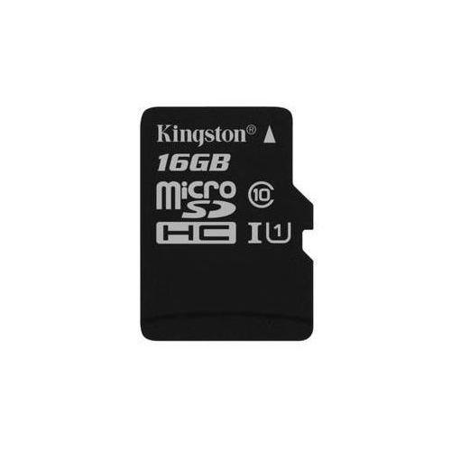Karta pamięci canvas select microsdhc 16gb uhs-i u1 (80r/10w) (sdcs/16gbsp) marki Kingston