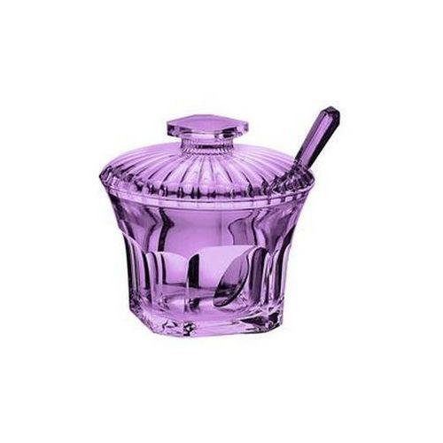 Guzzini - belle epoque - cukiernica z łyżeczką, fioletowy - fioletowy
