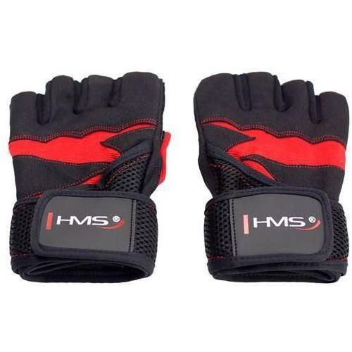 Hms Rękawice na siłownię rst02 (rozmiar xxl) czarno-czerwony