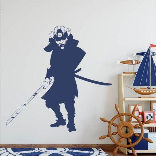 Wally - piękno dekoracji Szablon malarski dla dzieci samuraj 2076