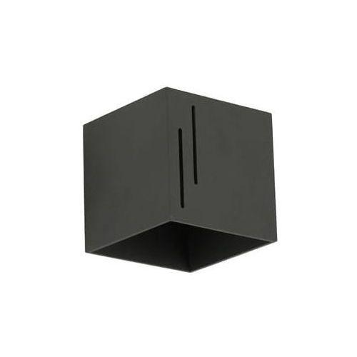 Kinkiet quado modern b czarny marki Lampex