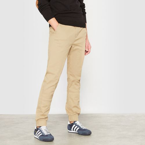 Spodnie typu chino z nogawkami zwężonymi u dołu 10-16 lat