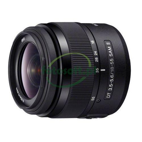 Sony dt 18-55 f3.5-5.6 sam ii alpha alfa nowy