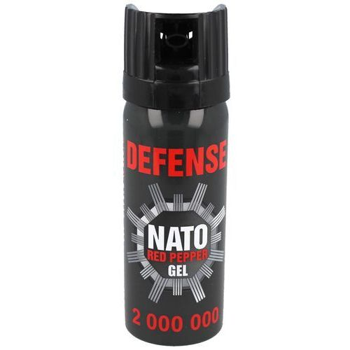Sharg products group Gaz pieprzowy sharg defence nato military gel 50ml cone (41050-c)