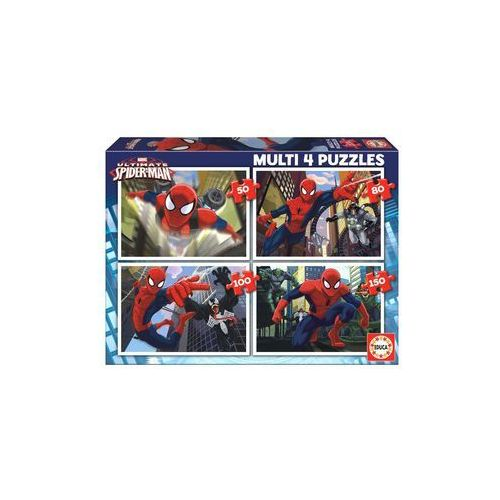 Puzzle 4 W 1 Ultimate Spider-Man (8412668156425)