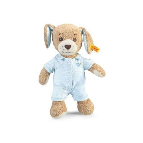 Steiff  maskotka piesek gute nacht 28 cm, kolor niebieski, kategoria: zwierzątka