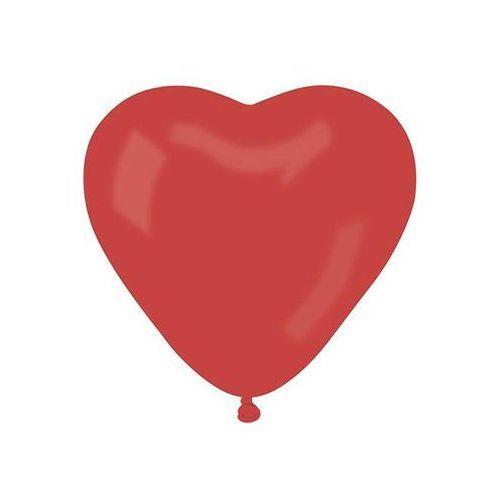 Go Balon duże czerwone serce - 44 cm - 1 szt. (8021886584509)