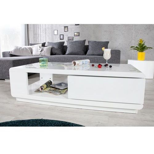 Interior space Stolik kawowy felicity biały 120x60cm - z ekspozycji
