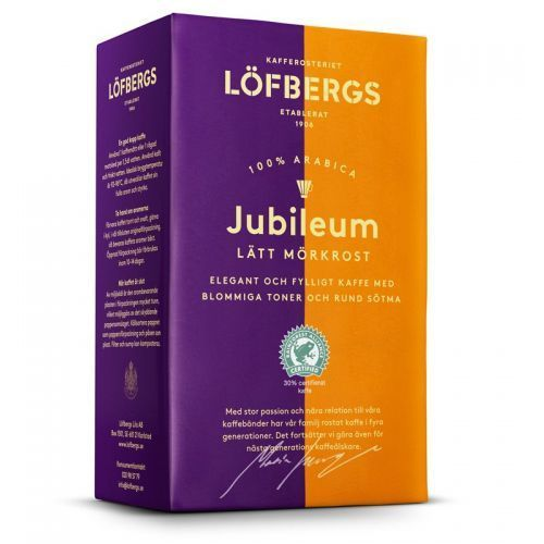 Lofbergs - Jubileum Latt Morkrost - kawa mielona - 450g