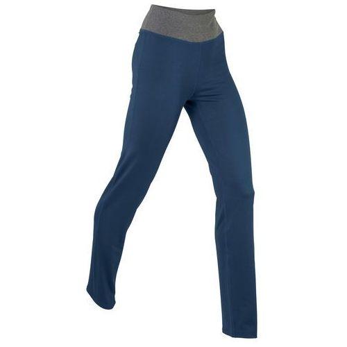 Bonprix Legginsy do jogi, długie, level 1 ciemnoniebieski