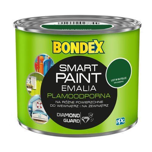 Emalia akrylowa Bondex Smart Paint list w butelce 0,5 l