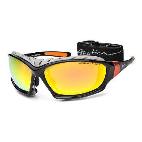 Okulary Arctica S-219 sportowe revo + pasek