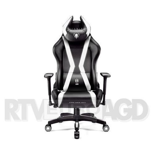Diablo chairs Fotel x-one horn (l) czarno-biały (5902560336986)