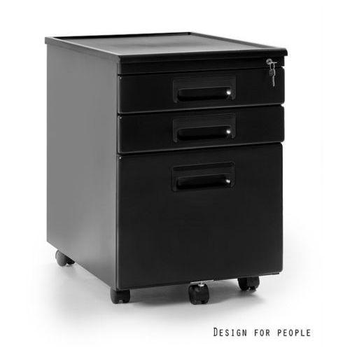 Kontener pod biurko czarny 324-b marki Unique