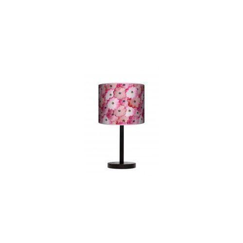 Lampa stojąca duża - Wycinane kwiatki
