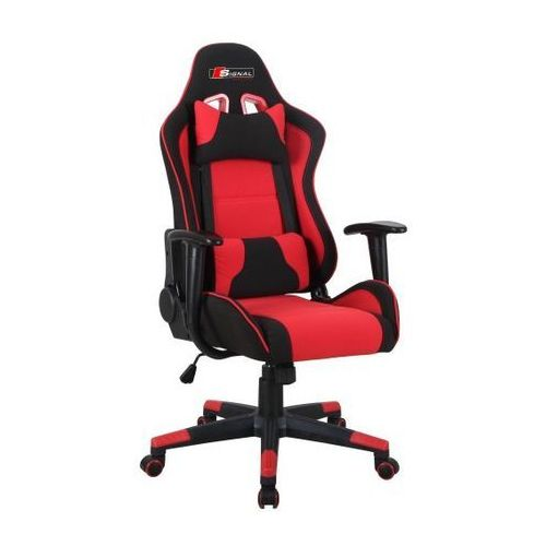 Fotel gamingowy SIGNAL Zanda czarny-czerwony