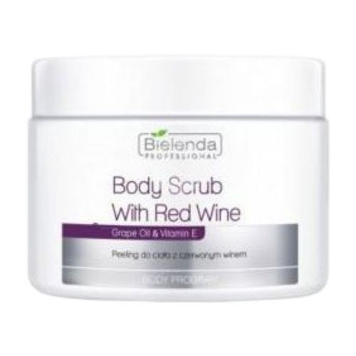 Bielenda professional body scrub with red wine peeling do ciała z czerwonym winem