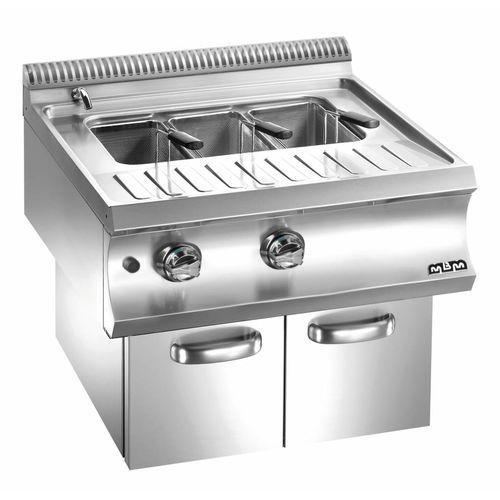 Urządzenie do gotowania makaronu i pierogów gazowe z szafką  linia Domina 700   40L   13300W   700x730x(H)580 mm