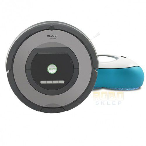 iRobot Roomba 772 + MoNeual EveryboT RS500
