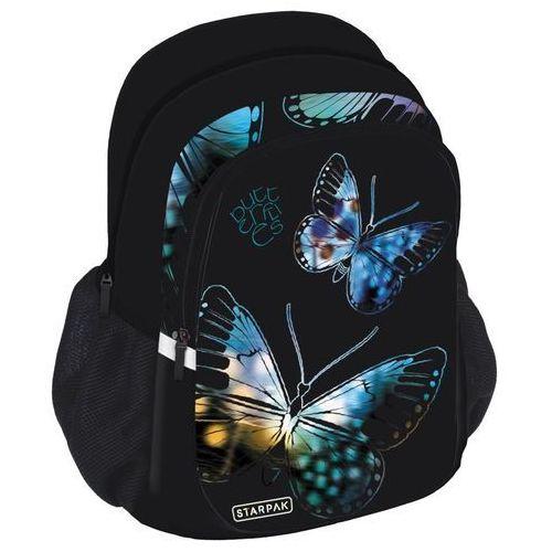 Starpak Plecak szkolny Butterfly STK-40 - (352375) Darmowy odbiór w 21 miastach!