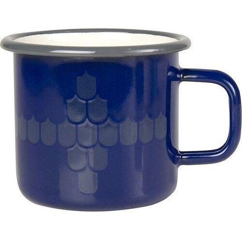 Kubek emaliowany Vappu Pimiä 0,37 l niebieski
