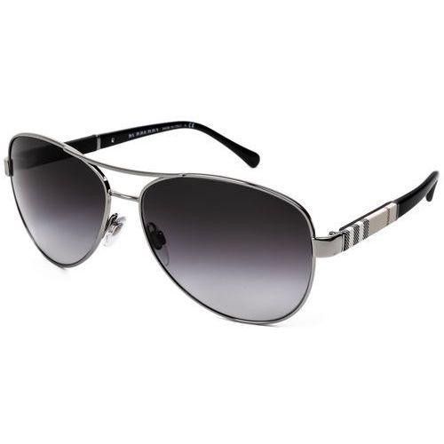 Okulary Słoneczne Burberry BE3080 10038G