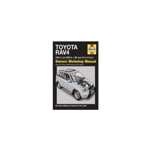Toyota RAV4 Petrol & Diesel Service and Repair Manual (9781785210181)