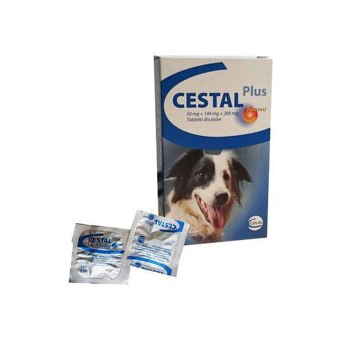 Cestal tabletki odrobaczające dla psa: opakowanie - 10 sztuk