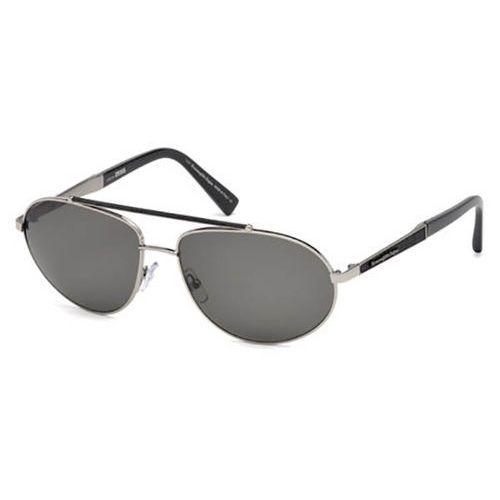 Okulary Słoneczne Ermenegildo Zegna EZ0037 Polarized 14D