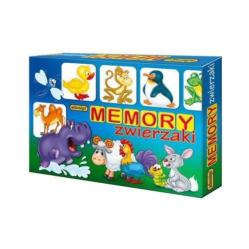 Zwierzaki memory marki Adamigo