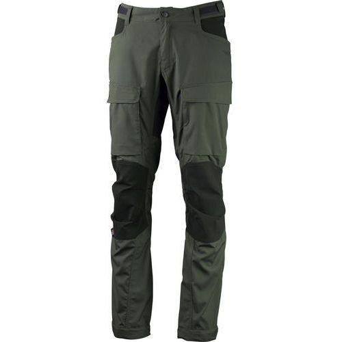 Lundhags Authentic II Spodnie długie Mężczyźni Regular oliwkowy 52-standardowe 2018 Spodnie turystyczne, kolor zielony