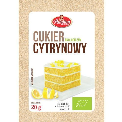 : cukier cytrynowy bio - 20 g marki Amylon