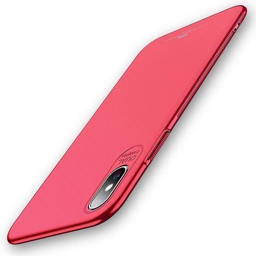 Etui slim case do iphone xs max 6.5 czerwone marki Msvii