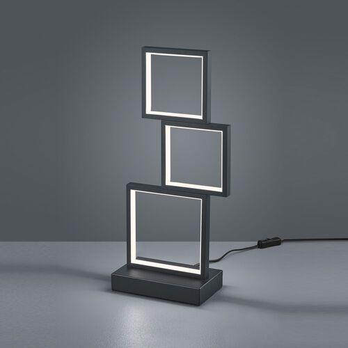 Trio Sorrento 527710332 lampka stołowa 1x15W LED 3000K czarny mat