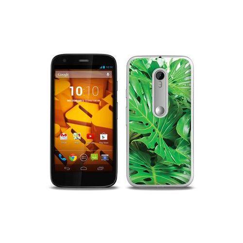 Foto Case - Motorola Moto G3 - etui na telefon Foto Case - monstera (Futerał telefoniczny)
