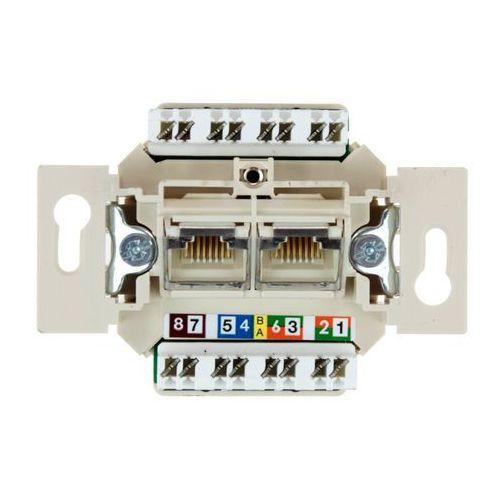 Mechanizm gniazda rj45 podwójnego 534576  marki Berker