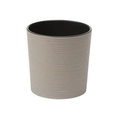 Doniczka plastikowa 19 cm szara MALWA (5900119278428)