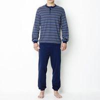 Piżama z bawełnianego dżerseju, kolor szary