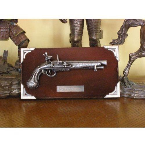 Hiszpania Miniaturka - pistolet georga washington'a z 1778 r + zawieszka (k303)