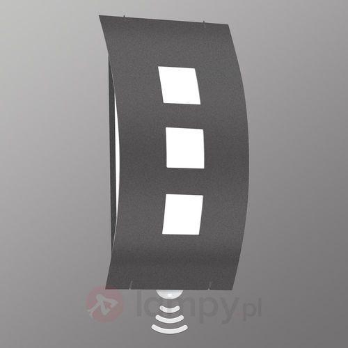 Lampa ścienna zewnętrzna Graal z czujnikiem (4260045641088)