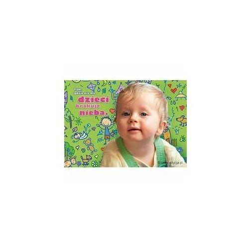 Edycja św. pawła Kartka uśmiech dziecka - niebo