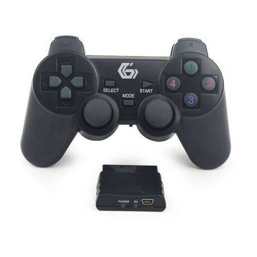 Gamepad Gembird Gamepad GEMBIRD USB/PC/PS2/PS3 Kabellos DualVibr. 10 Tasten - JPD-WDV-01 Darmowy odbiór w 19 miastach!, JPD-WDV-01