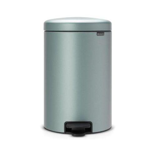 Brabantia Kosz na śmieci 114120 newicon 20l metaliczny miętowy (8710755114120)