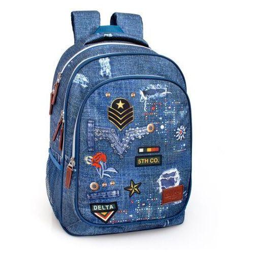 J.m. inacio El charro plecak młodzieżowy trzykomorowy 44 cm (5607372567138)