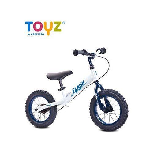 Toyz Rowerk biegowy metalowy  flash white - 2 jakość