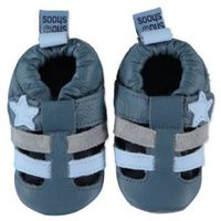SHOOSHOOS Boys Baby Buty do raczkowania SIROCCO blue (6009541705423)