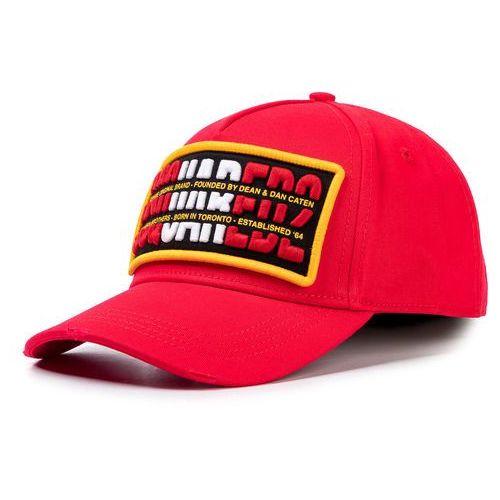 Czapka z daszkiem DSQUARED2 - Patch Cargo Baseball Cap BCM0244 05C00001 4065 Red
