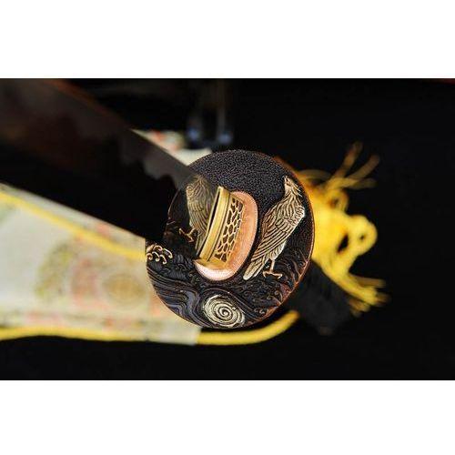 Miecz samurajski katana do treningu, stal wysokowęglowa 1095, ręcznie kuta r719 marki Kuźnia mieczy samurajskich