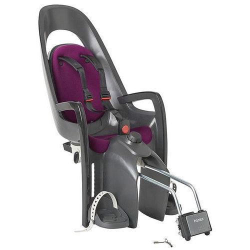 Hamax caress fotelik dziecięcy szary/fioletowy 2018 mocowania fotelików